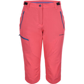 Icepeak Shaina Capri Trousers Women, coral-red